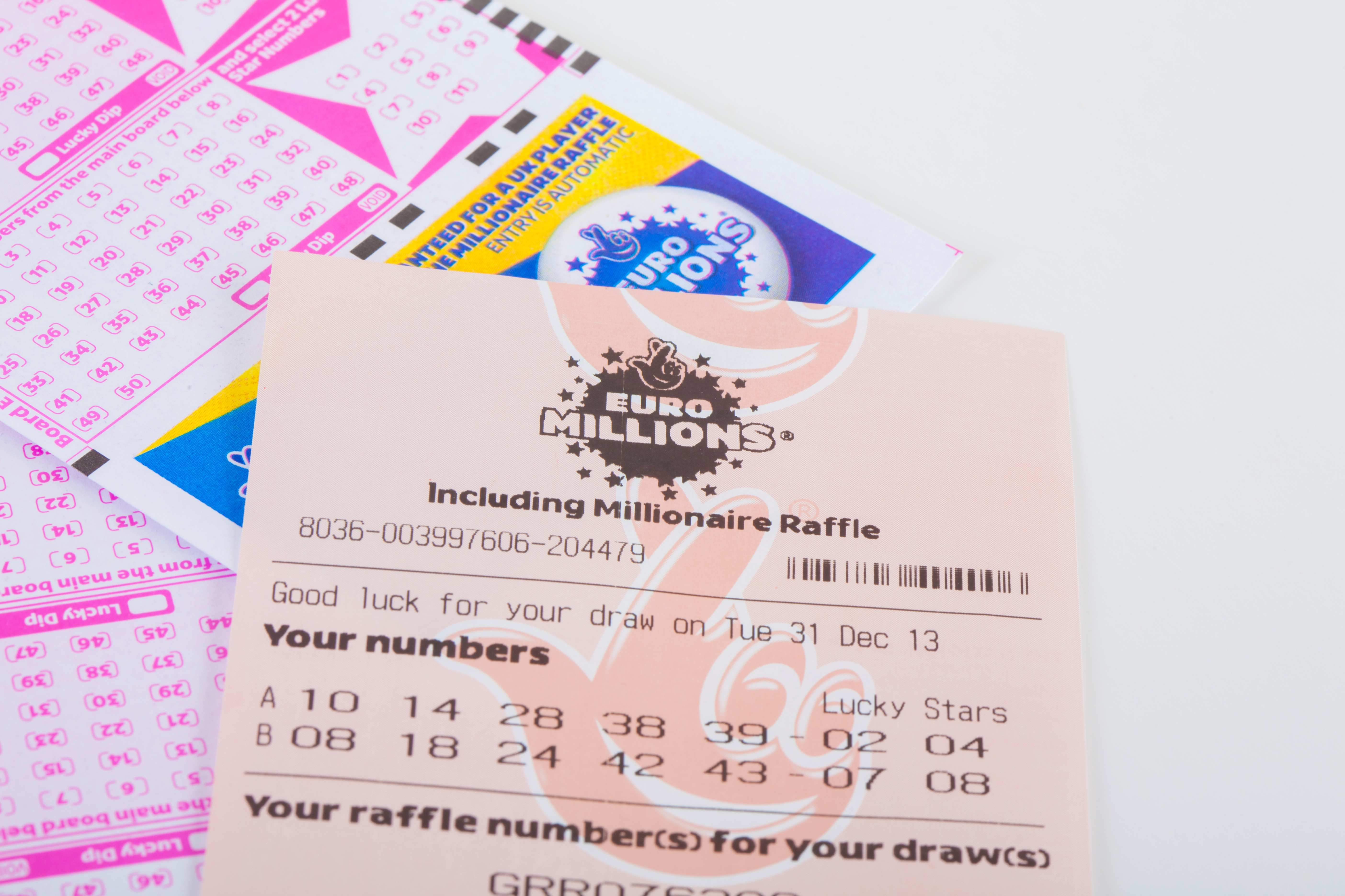 """EuroMillions """"super draw"""""""