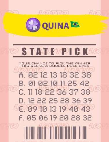 Générateur de nombres Quina Brazil