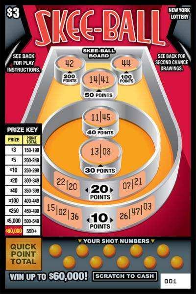 Loto de New York - jeux de loto de loterie