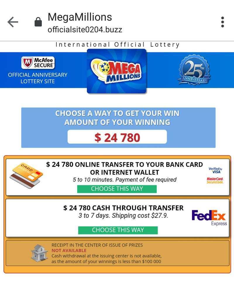 Nj lottery | mega millions mega millions