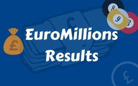 Euromillions results for 10th june 2016
