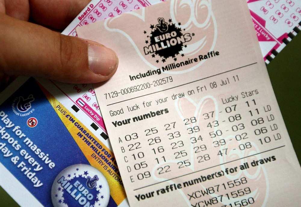 Статистика лотереи «евромиллионы»