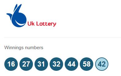 Английское лото uk national lottery