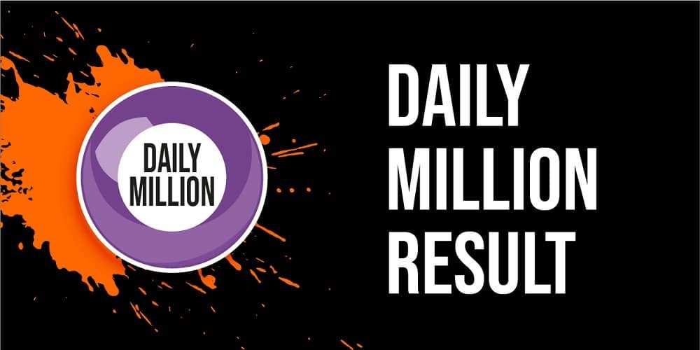 Ireland daily million (afternoon) 6/39 results – check winning numbers