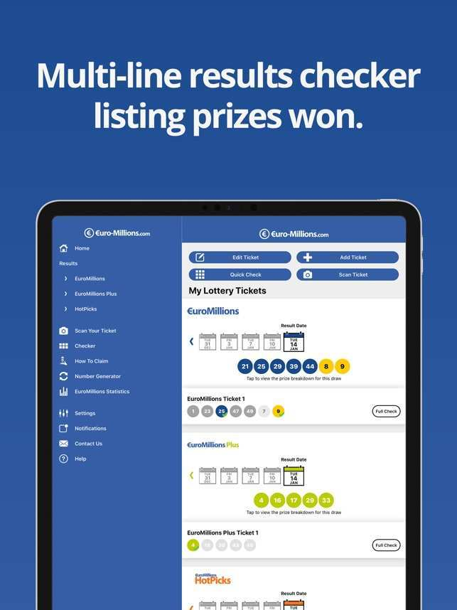 Euromillions results for 18th march 2016