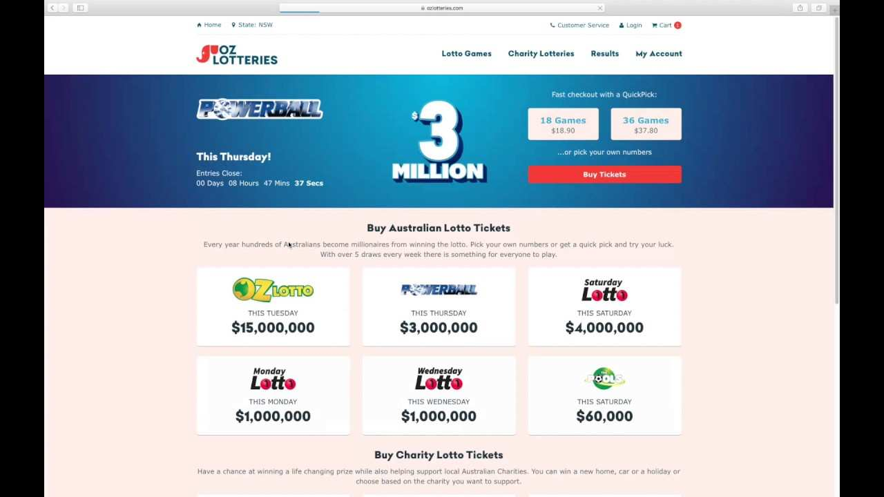 How to buy powerball tickets online