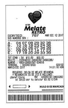 墨西哥melate复古数发生器