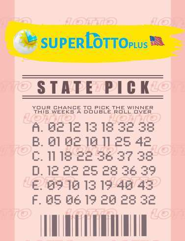 California superlotto plus free tips