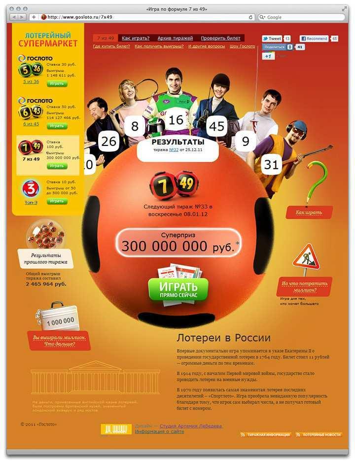 Kuinka pelata arpajaisia Internetissä - tietoa, kuinka pelata lottoa verkossa