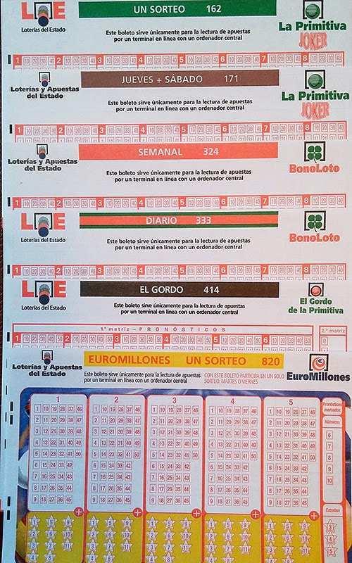 Lett. spill og sjekk resultatene og bonolotopremiene i dag og resten av uken | eduardo losilla, din online lotteriadministrasjon