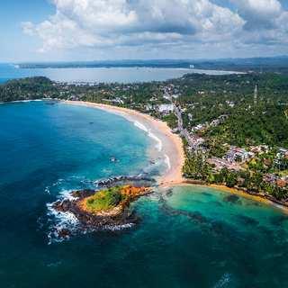 Baie de Veligama, Sri Lanka. carte, Commentaires, plage, la météo, attractions, tournées.  hôtels à proximité, Photo, vidéo, comment arriver - tourist.ru
